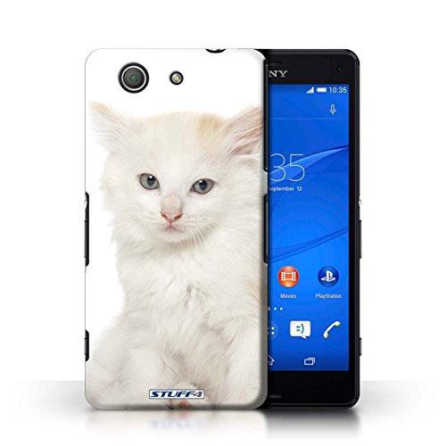 Kobalt® Imprimé Etui / Coque pour Sony Xperia Z3 Compact / Peterbald conception / Série Espèces de chats Kurillian