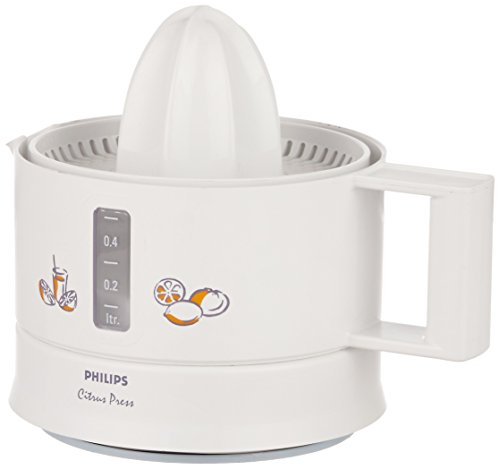 Philips HR2771 0.5-Litre Citrus Press (White)