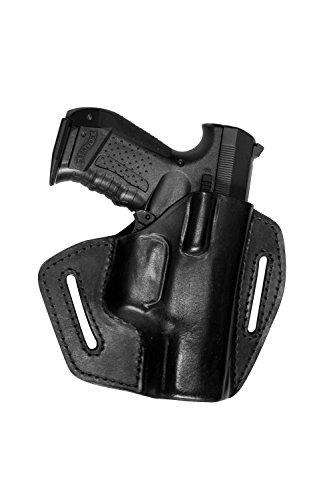 VlaMiTex UX Pistolen Leder Schnellziehholster für Walther P99 PPQ PK380 Umarex CP99