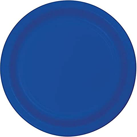 Creative Converting 319039 50 Count Plastic Dinner Plate, 9