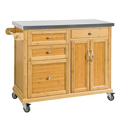 Carrelli in legno per cucina | Classifica prodotti (Migliori ...