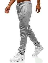 BOLF Hombre Deporte Pantalones Entrenamiento Fitness Jogger Camuflaje Ejército 6F6 Motivo