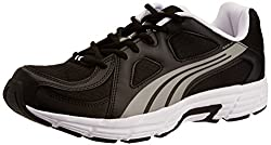 Puma Mens Axis V3 Black and Aged Silver Fabric Running Shoes - 6 UK/India (39 EU)