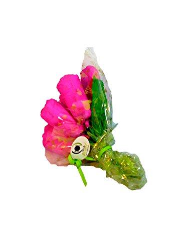 Ramo de rosas DODOT 12 pañales rosa