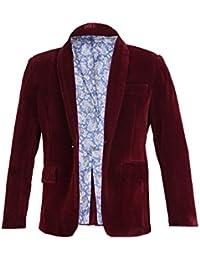 b2c10a7d4 SIRRI Boys Burgundy Navy Royal Blue Velvet Jacket Kids Blazer Boy Formal  Wear Jacket