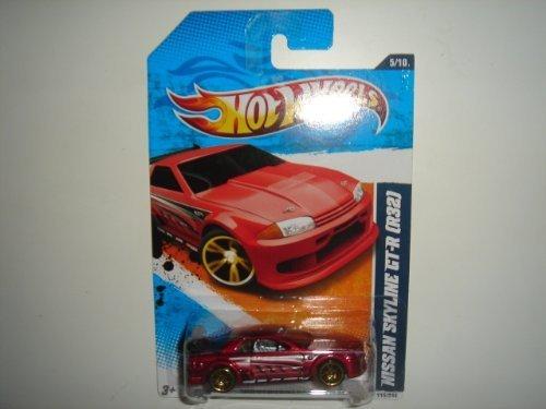 2011 Hot Wheels Nissan Skyline GT-R (R32) Red #115/244 by Hot Wheels