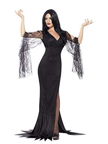 Smiffys smiffy's 43726s - immortale costume nero con il dress, s