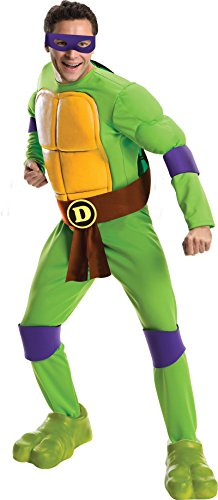 Teenage Mutant Ninja Turtles Deluxe Donatello Adult (Deluxe Adult Ninja Kostüme)