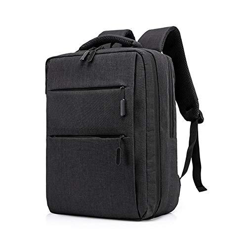 SUPERLOVE Zaino per Computer Portatile da Uomo e da Donna Nylon Impermeabile per Il Tempo Libero Burden Reduction Handbag Zaino da 15.6 Pollici per Notebook