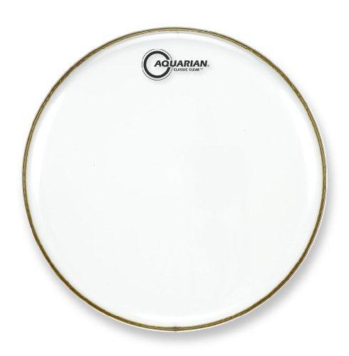 Aquarian Classic Clear 25 cm (10 Zoll) Drumhead / Schlagzeugfell einlagig