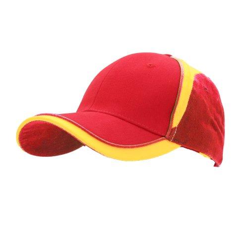 Result - Cappellino Colori Bandiere Nazionali (Taglia unica) (Spagna)