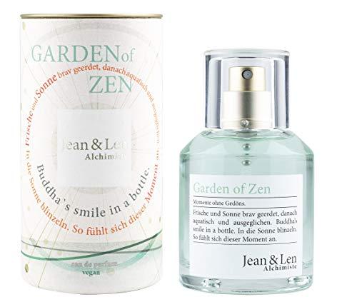 Jean & Len Jean & len damenduft garden of zen parfüm für damen eau de parfum duftnoten: frisch natürlich harmonisch lebensfroh 50 ml 1 stück
