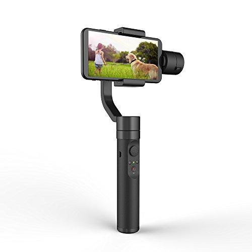 YI Gimbal Smartphone Stabilizzatore a 3 Assi 360° per iPhone Samsung Galaxy Huawei One-Plus Xiaomi Google e Altri Smartphone Android