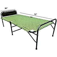 "PARVESH Smart Niwar Folding Bed Size 36"" X 72"""