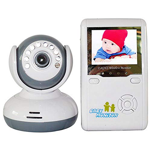 QIQI Home Care, 2.4G Wireless Digital Home Surveillance Intercom Infrared Night Vision Empty 200M Baby Safety Surveillance-tracking