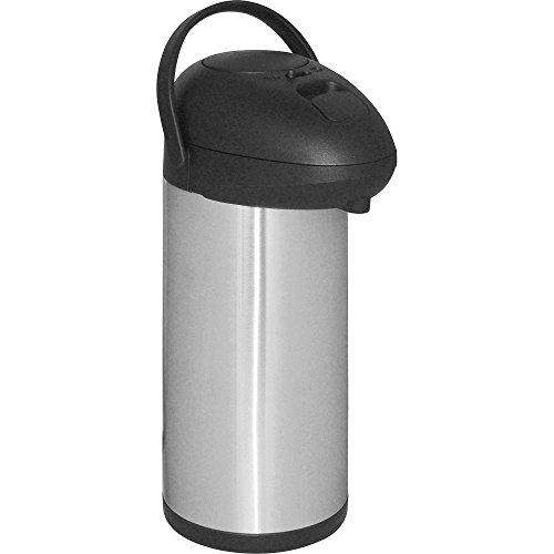 Isolierpumpkanne Isoliekanne Thermoskanne Höhe 450 mm 5 Liter Edelstahl Polypropylen mit - 450 Thermoskanne