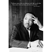 1art1 37142 Martin Luther King – Hass Hass Won't Stop Poster 91 x 61 cm