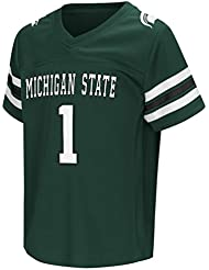 "Michigan State Spartans NCAA ""Hail Mary Pass"" Toddler Football Jersey Maillot"