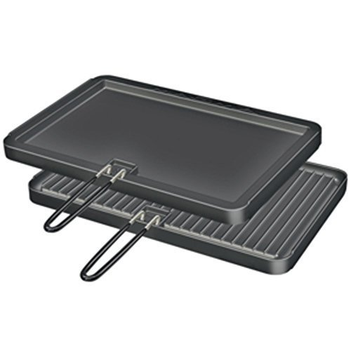 Marine-grill (Magma 2 Sided Non-Stick Griddle 11x17 For Catalina & Monterey Grills Marine RV Boating Accessories by Magma)