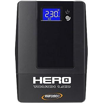 Onduleur Hero Touch LCD 800 VA avec 4 Prises IEC et port USB
