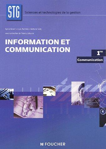 INFORMATION ET COMMUNICATION (Ancienne édition)
