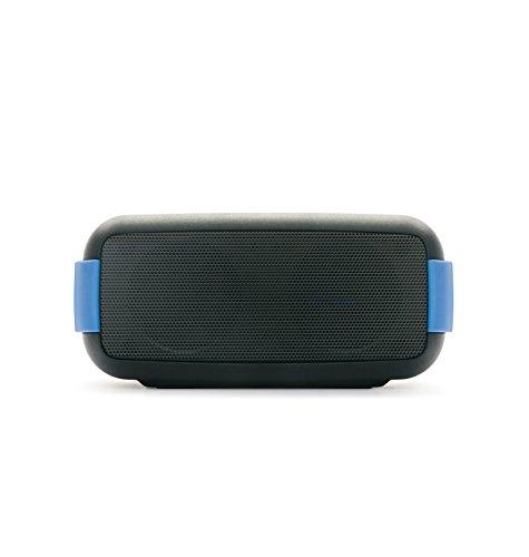 Foto Macrom Easy Speaker Wireless Bluetooth Impermeabile con Vivavoce e NFC, Nero/Blu