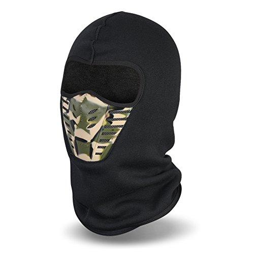 Magic Zone Balaclava Gesichtsmaske , Winter-Vlies-windundurchlässige Ski-Maske für Männer und Frauen
