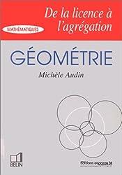 Géométrie, de la licence à l'agrégation
