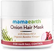 Mamaearth's Onion Hair Mask for Hairfall Control with Organic Bamboo Vinegar 2