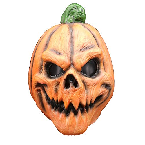 GAONAH Halloween-Kürbis-Kopfmaske, Neuheit Horror Latex, Horror Sloth Kopf -