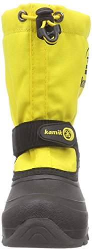 Kamik Unisex-Kinder Waterbug5g Schneestiefel Gelb (LEMON)