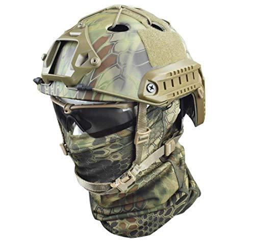 Inooy modern warrior exclusive helmet outdoor cycling casco da caccia militare casco mimetico