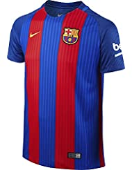 2016-2017 Barcelona Home Nike Shirt (Kids) - with sponsor