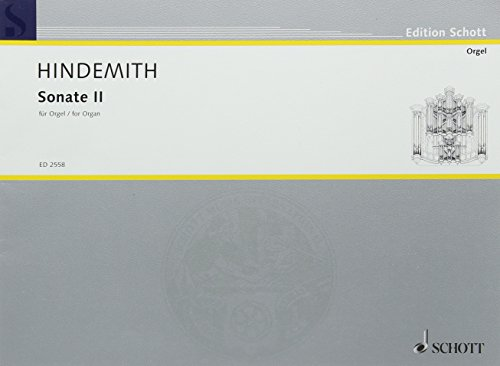 Sonate II: Orgel. (Edition Schott)