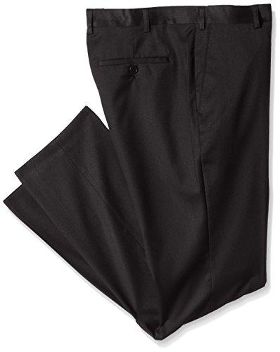 TOM TAILOR Herren Bundfalten Anzughose pants/508 Schwarz (Black 2999)