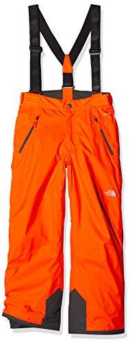 THE NORTH FACE Kinder Snowquest Suspender Plus Hose, Power Orange, M North Face Snow