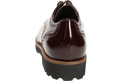 Gabor 51-410 Chaussures Derby femme Merlot