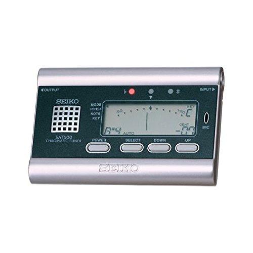 Seiko SAT500 Chromatic Tuner - chromatisches Stimmgerät mit Sound-Referenz