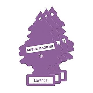Arbre_Magique PER90520 Auto-Lufterfrischer, Lavendel-Duft, 3er Set, Lila, Lavanda, Set of 3
