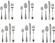 Winsor 24-Piece Stainless Steel Cutlery Set with Stand WR4000-24PR