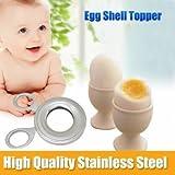 Stainless Steel Boiled Egg Shell Topper ...