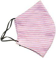 Rapsodia Unisex Anti-Pollution Cotton Striped Mask - Assorted Colors