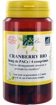 BELLE ET BIO - Cranberry Bio - 120 comprimés