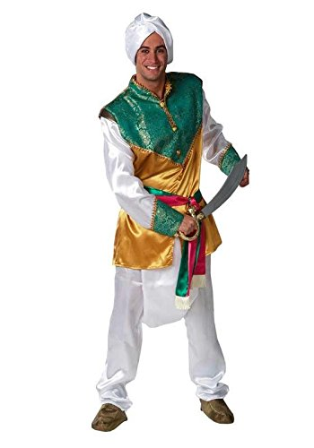 Imagen de disfraz hindú adulto.talla 50/52.