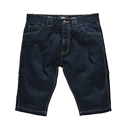 Dickies - Kentucky Short, Pantaloncini sportivi Uomo, Blu (Stonewash), W30 (Taglia Produttore: 30)
