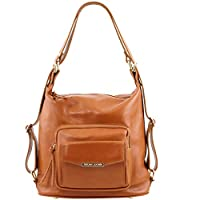 Tuscany Leather TL Bag Bolso de señora en piel convertible en mochila