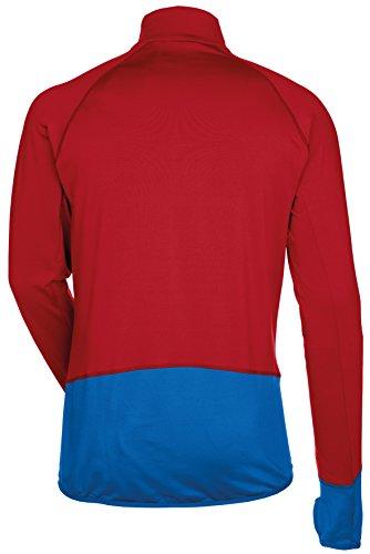 Vaude Livigno Sweat-shirt 1/2 zip Homme Indian Indian Red