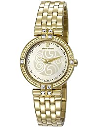 Pierre Cardin-Damen-Armbanduhr Swiss Made-PC107152S04