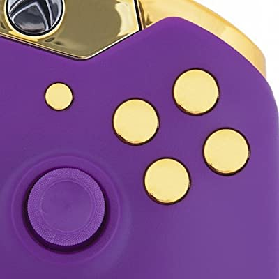 Xbox One Custom Controller - Matte Purple & Gold