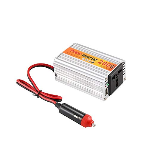 Bianchi 200W Car Auto Inverter Power Supply Adapter 12V DC to 220V AC Laptop Computer Auto Auto Power Inverter Adapter